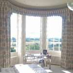 Curved Bay Window Pelmet Curtains Moghul Interiors