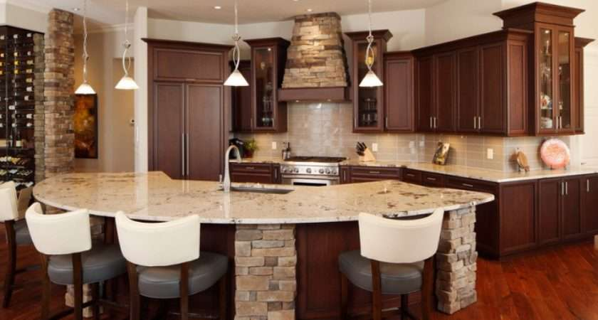 Curved Kitchen Island Designs Ideas Design Trends