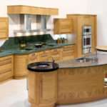 Curved Kitchen Island Great Combinations Between