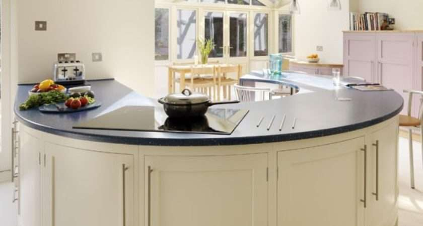 Curved Kitchen Island Ideas Modern Homes Homesfeed