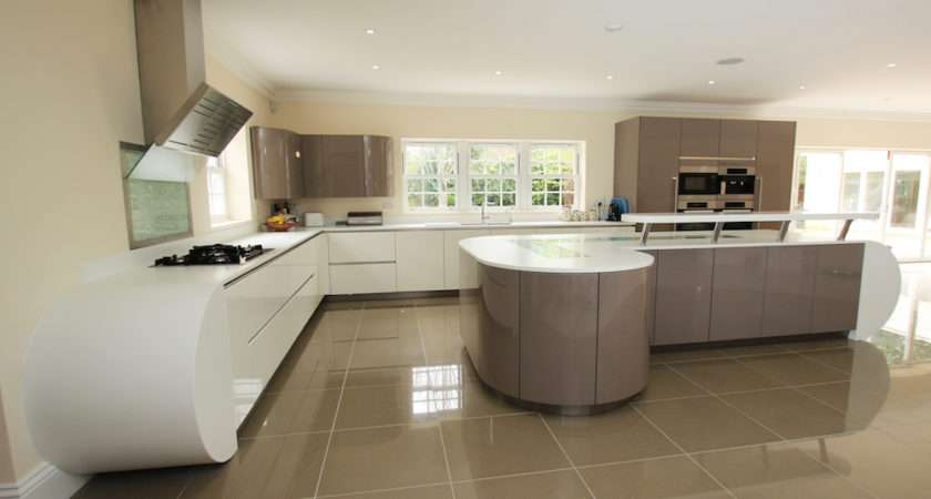 Curved Kitchens Lwk German Kitchen Supplier