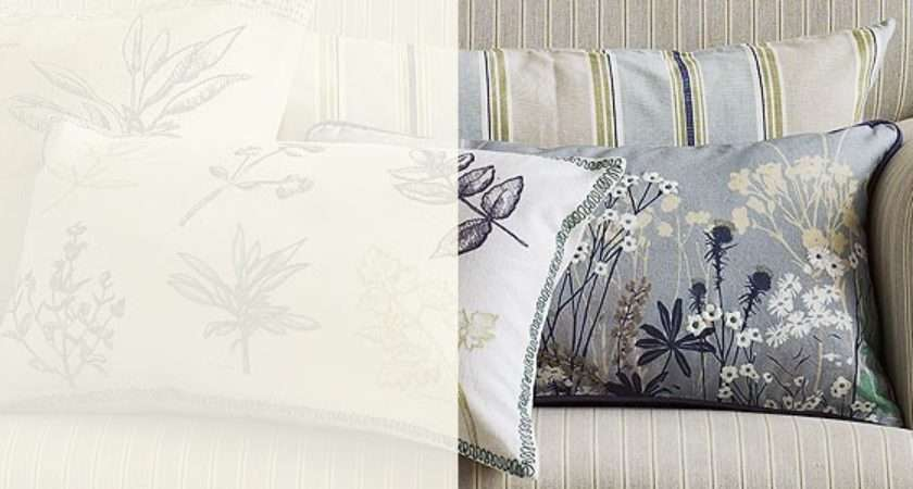 Cushions Influenced Great Outdoors Botanist Cushion Collection