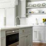 Custom Kitchen Gray Cabinets Home Bunch Interior