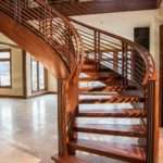Custom Staircases Stair Design Curved Stairs