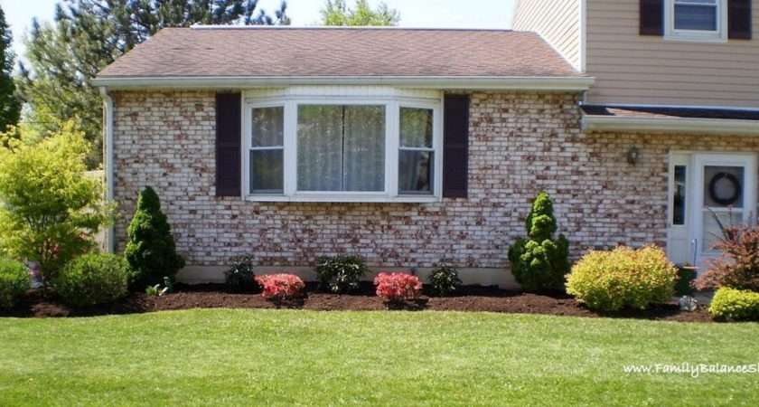 Cute Simple Flower Bed Ideas Front House