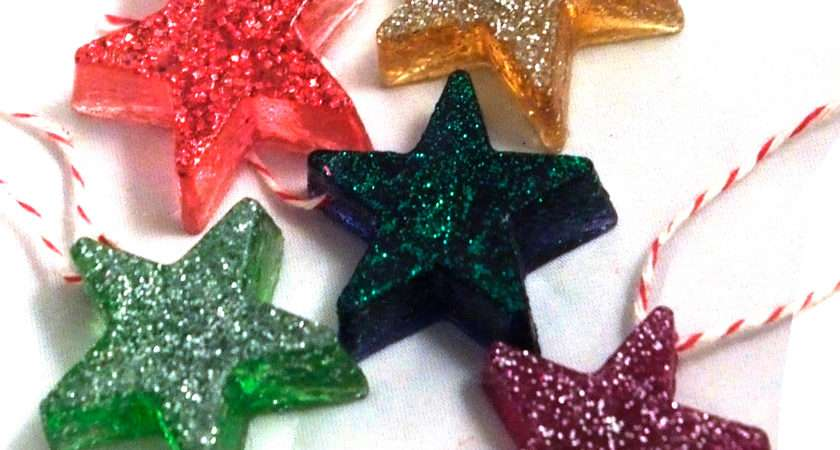 Dabbled Tutorial Make Resin Star Christmas Tree Ornaments