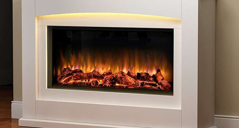 Danby Glass Fronted Electric Fire Suite Endeavour Fires