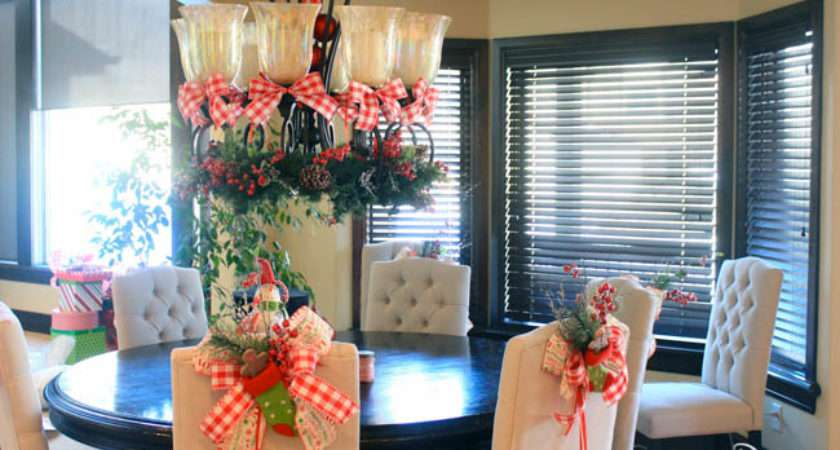 Dazzle Shows Decorate Your Dining Room Christmas