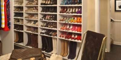 Dazzling Shoe Storage Solutions Look Metro Contemporary