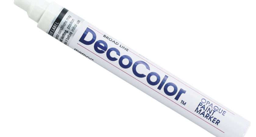 Decocolor Glossy Oil Based Broad Line Opaque Paint Marker Ebay