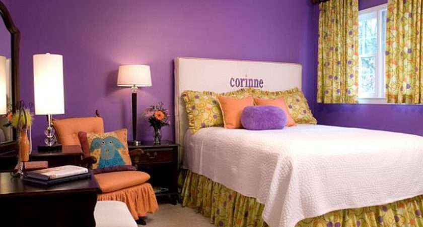 Decorate Bedroom Purple Walls