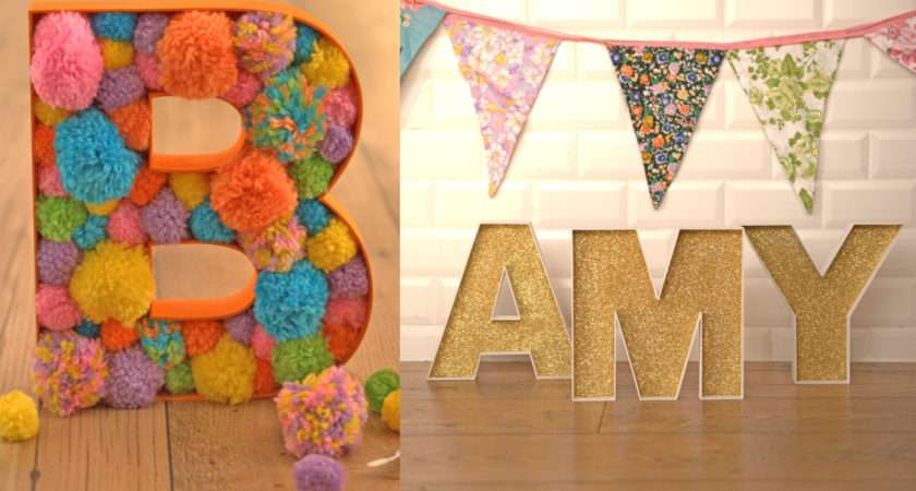 Decorate Fillable Wooden Letters Hobbycraft Blog