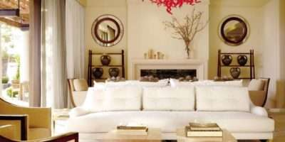 Decorate Round Mirrors Your Living Room