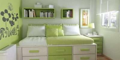 Decorate Small Bedroom Two Beds Interior Design