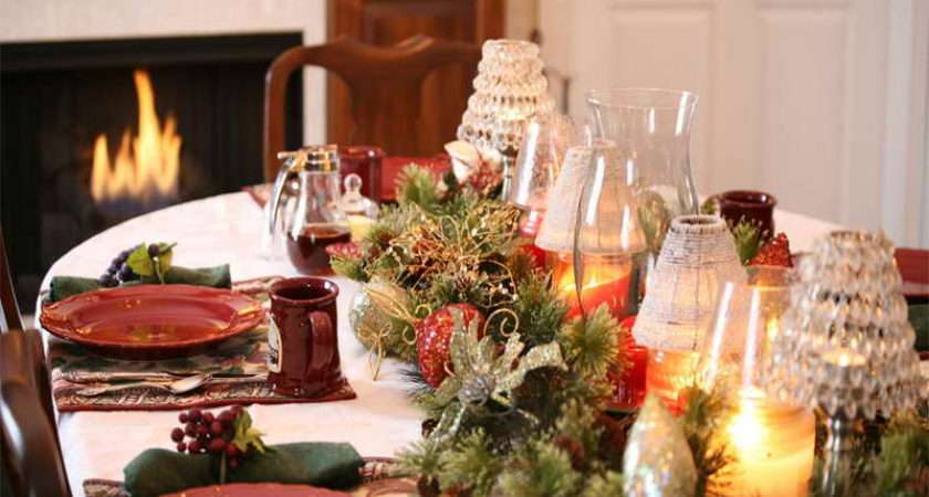 Decorate Small Table Christmas