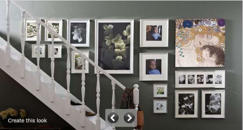 Decorate Stairway Hanging Walls