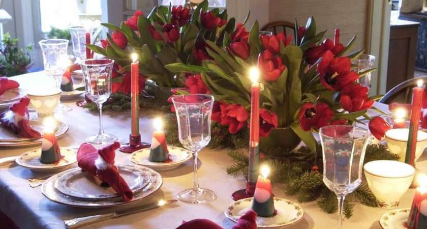 Decorate Your Christmas Table
