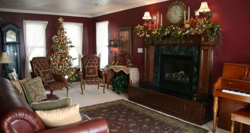 Decorate Your Living Room Christmas Fireplace Mantel White
