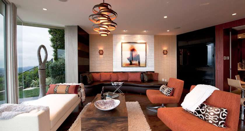 Decorate Your Living Room Modern Hanging Lamps