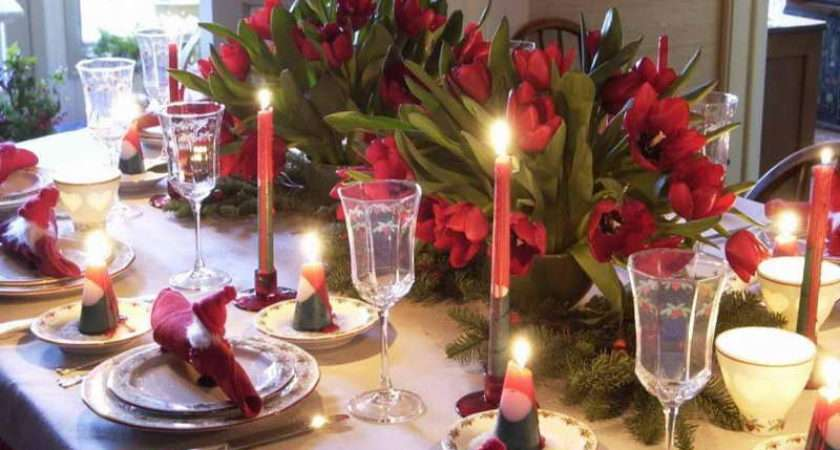 Decorate Your Table Christmas