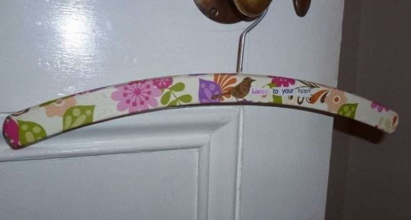 Decorated Coat Hanger Make Clothes Papercraft