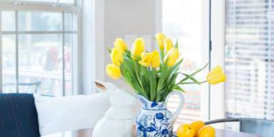 Decorating Blue White Porcelain Home Create