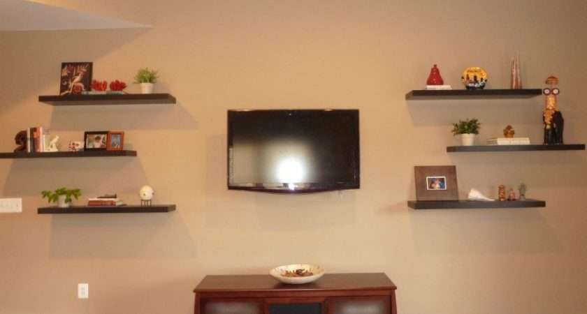 Decorating Floating Shelves Arrangement Ideas