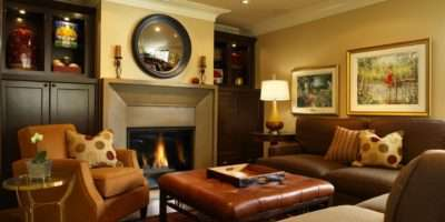 Decorating Ideas Above Fireplace Mantel Room Home