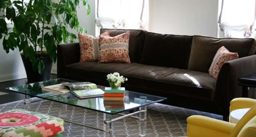 Decorating Ideas Brown Sofa Room Home