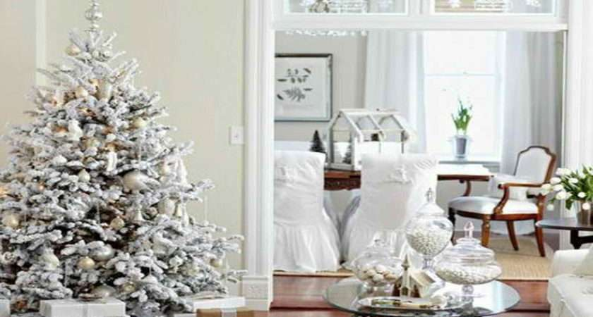 Decorating Ideas Classic Christmas Tree White