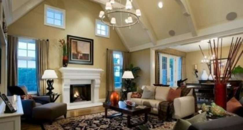 Decorating Ideas High Ceiling Living Rooms Get