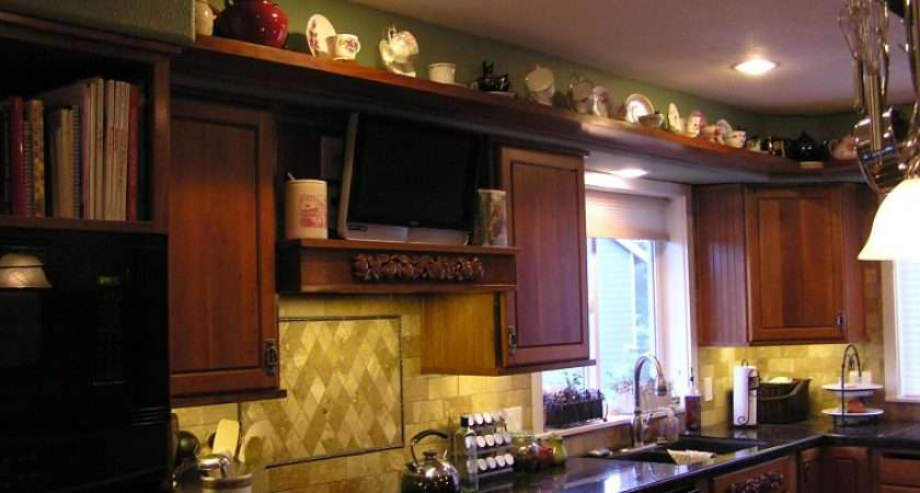 Decorating Ideas Kitchen Cabinet Tops Room