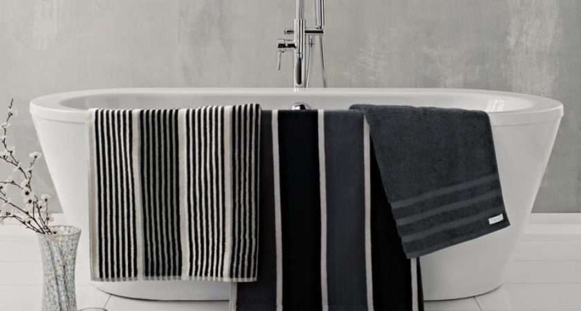 Decorating Ideas Monochrome Bathroom