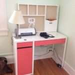 Decorating Lovely Ikea Micke Desk Study Workspace