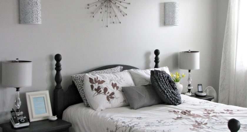 Decorating Master Bedroom Walls Gray Paint Colors