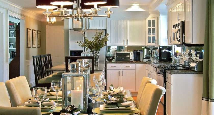 Decorating Open Plan Living Dining Kitchens Interior