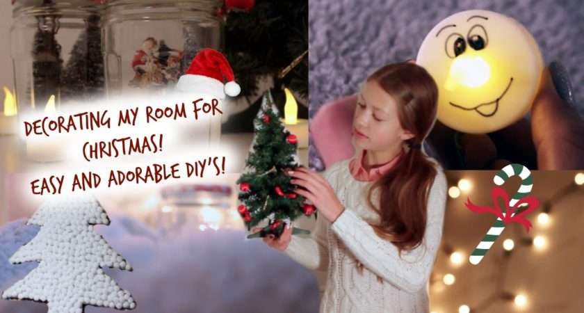 Decorating Room Christmas Easy Adorable Diys Crafts