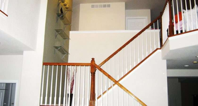 Decorating Stairway Walls