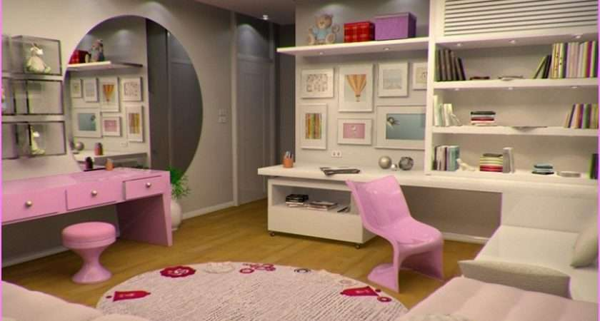 Decorating Teenage Girl Room Design Decoration