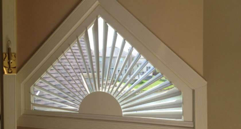 Decorating Triangle Window Shades Inspiring Photos