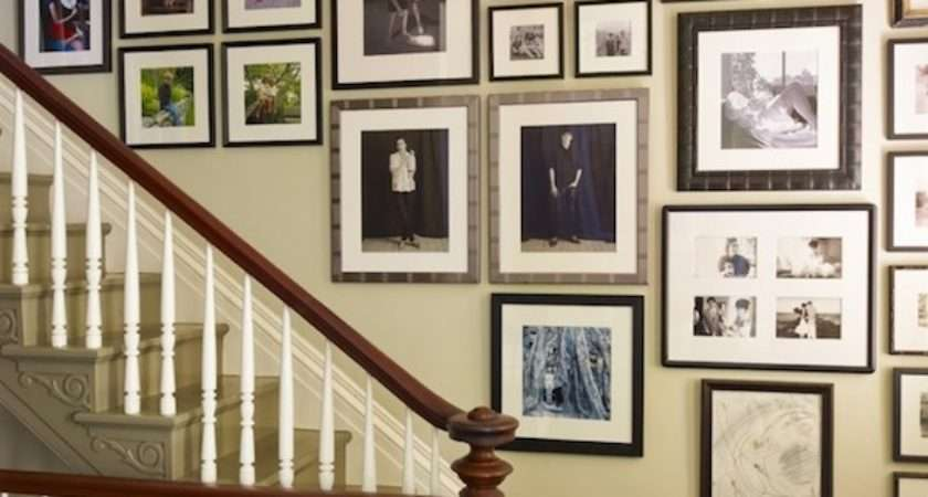 Decorating Your Staircase Eye Catching Artwork