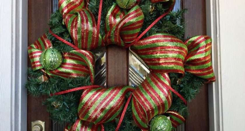 Decoration Luxury Christmas Wreath Decorating Ideas