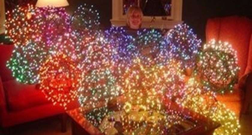 Decoration Make Outdoor Lighted Ball Christmas Decorations