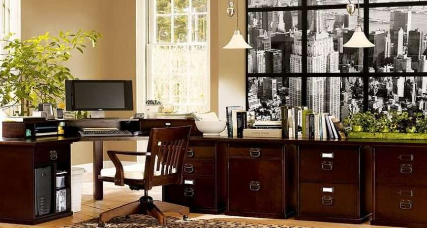Decoration Nice Home Office Decorating Ideas