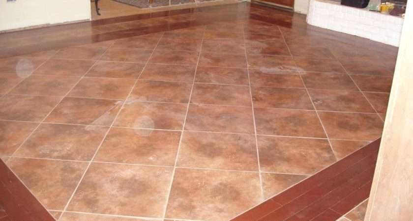 Decoration Tile Wood Floor Ideas