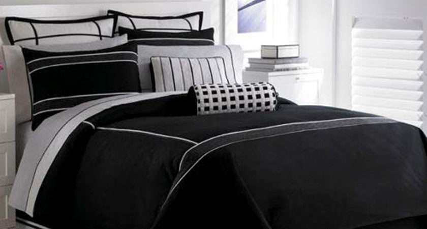 Decorations Black White Grasscloth