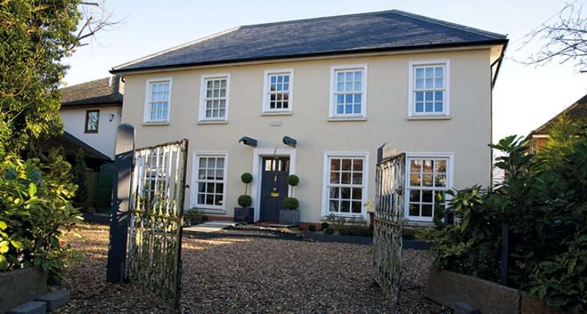 Deeks Georgian Style Self Build Home Features Six Over Sash