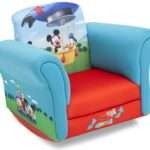 Delta Upholstered Mickey Mouse Rocking Chair Kmart