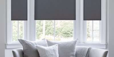 Deluxe Room Darkening Fabric Roller Shades Blindster