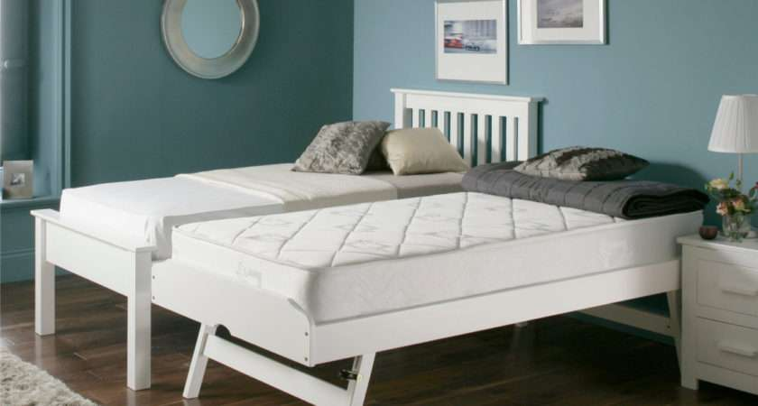 Denver Guest Bed White Painted Wood Wooden Beds